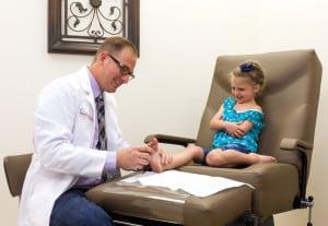 Childrens Feet Treatment - Pediatric Podiatrist Dr Mikkel Jarman