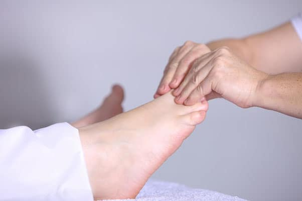 Diabetic Foot Care Guidelines - image of feet