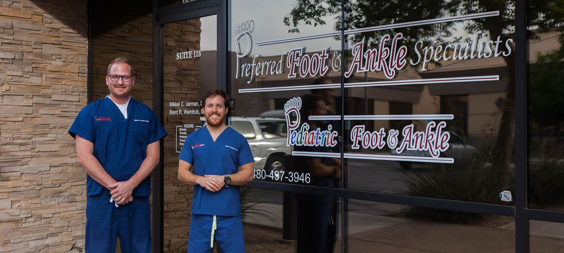 Preferred Foot and Ankle Specialists Contact Us